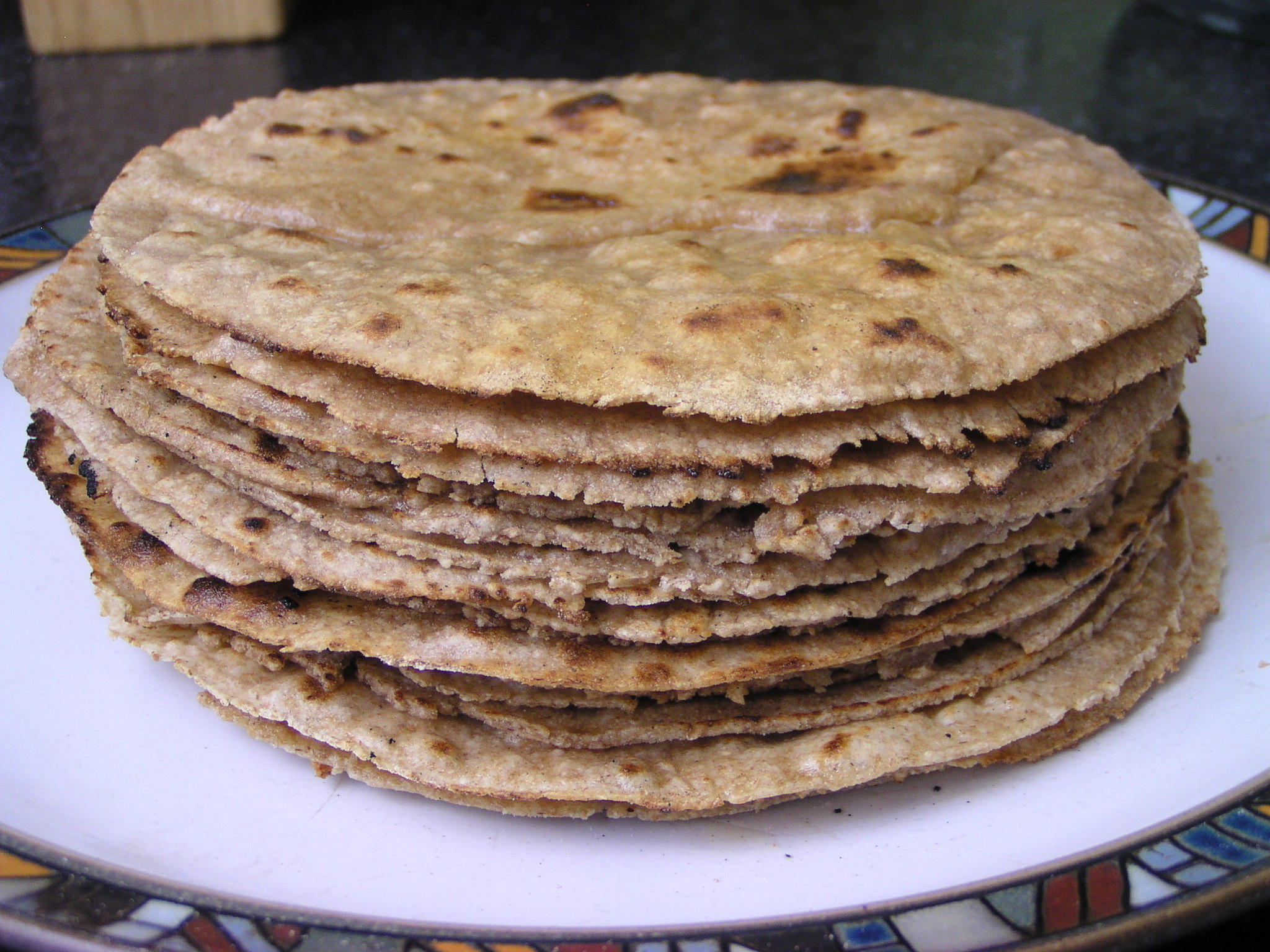 Indian Flatbreads: roti, thepla and parantha
